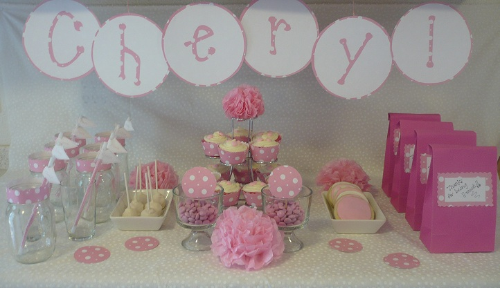 Happy Birthday Cheryl Sweets Delight