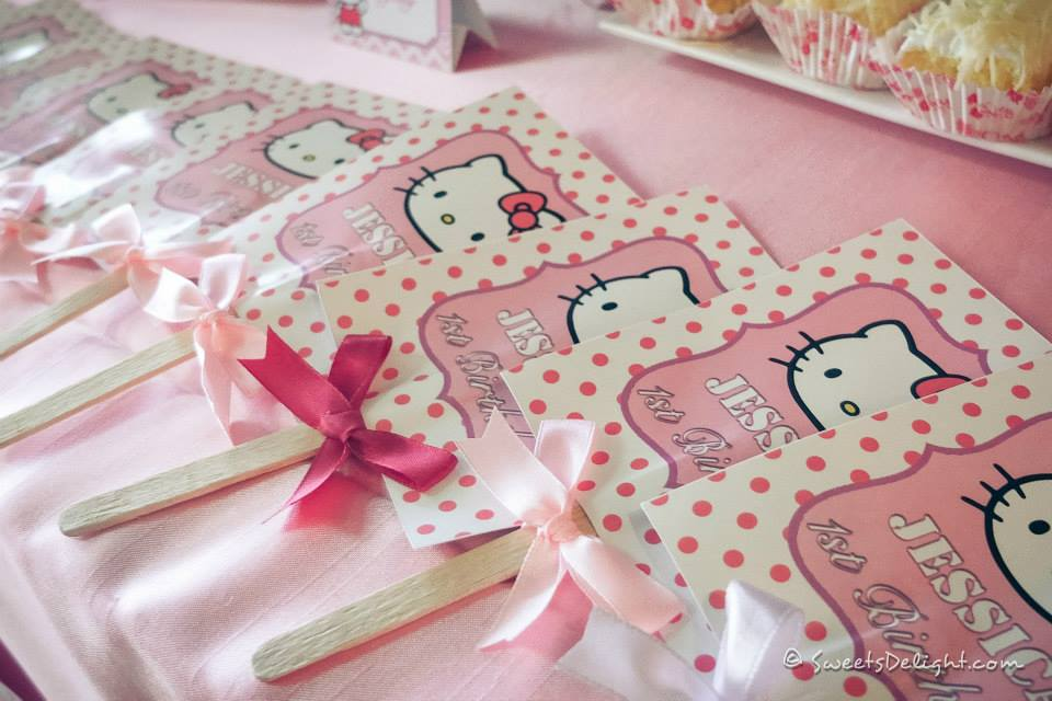 Super Hello Kitty Cake Sweets Delight Funny Birthday Cards Online Inifodamsfinfo