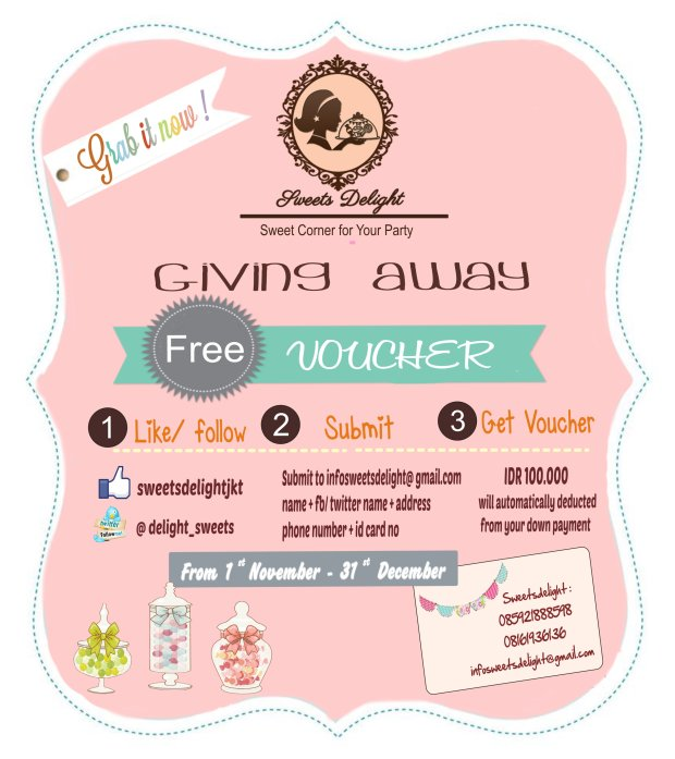 Free Voucer ..Grab it now!