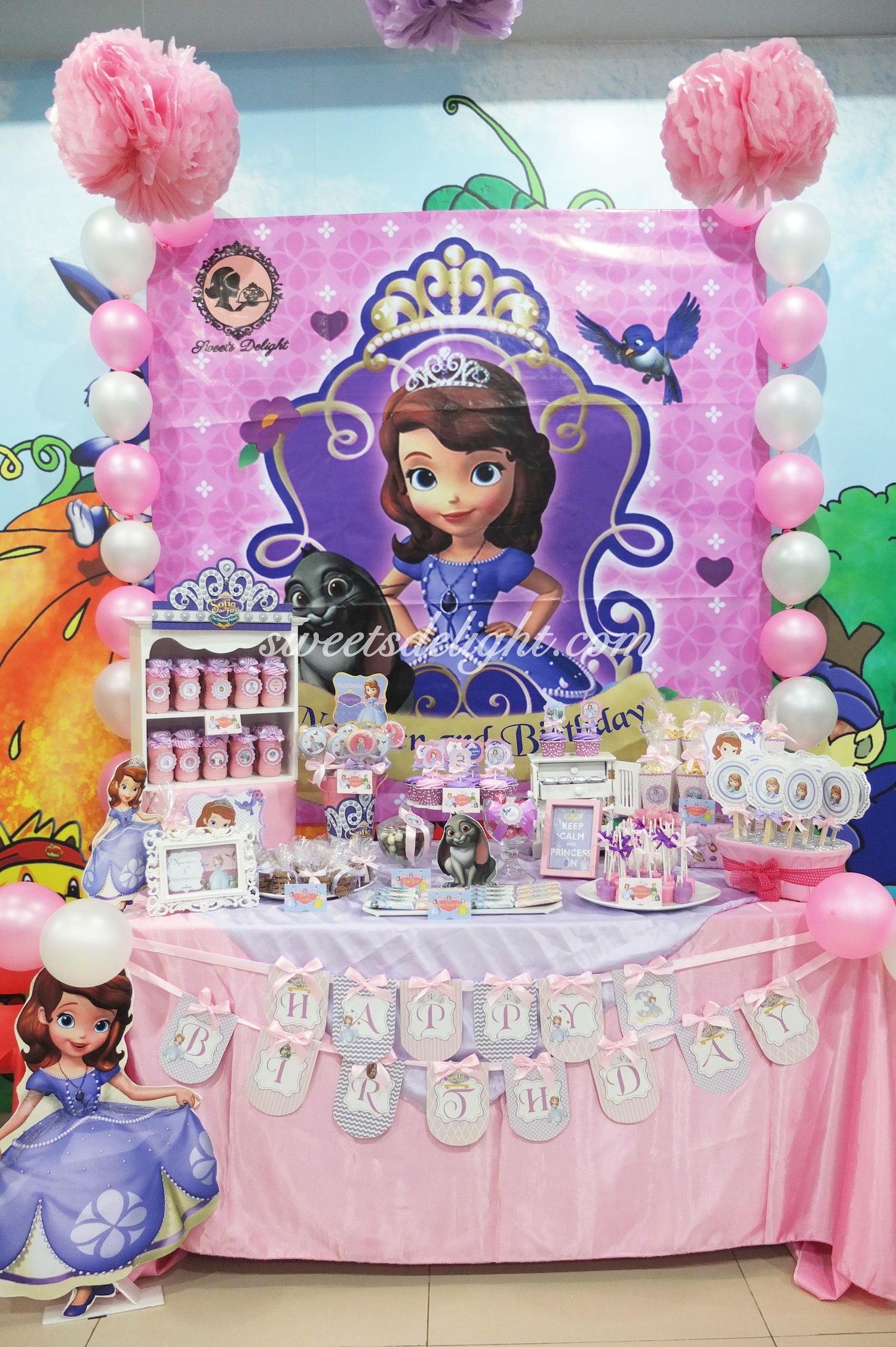 Sophia The First Naureen Birthday Party Sweets Delight