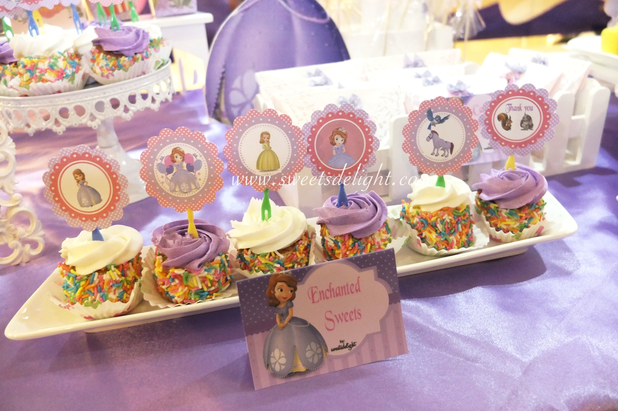 Sofia The First Anneliese 8th Birthday Sweets Delight