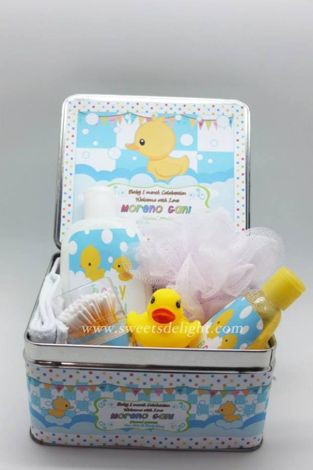 Baby Moreno Hampers Tin box  - TC06