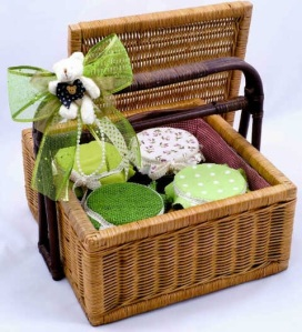 Idul Fitri Hampers Rattan deluxe