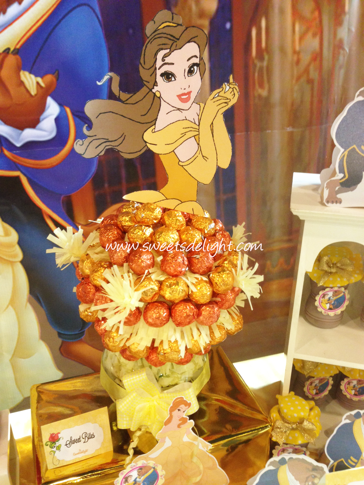 Beauty And Fashion Youtube: Beauty And The Beast Dessert Table