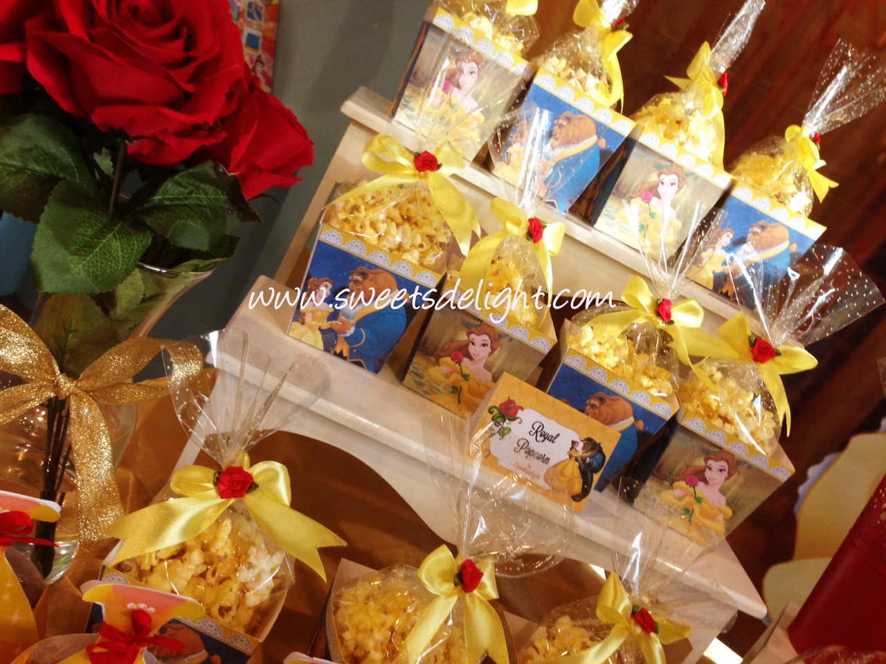Beauty And The Beast Dessert Table Sweets Delight