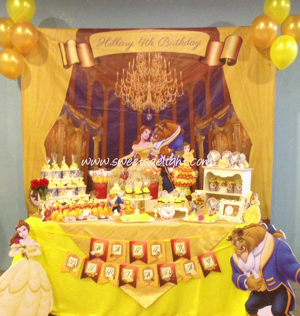 Beauty And The Beast Sweets Delight
