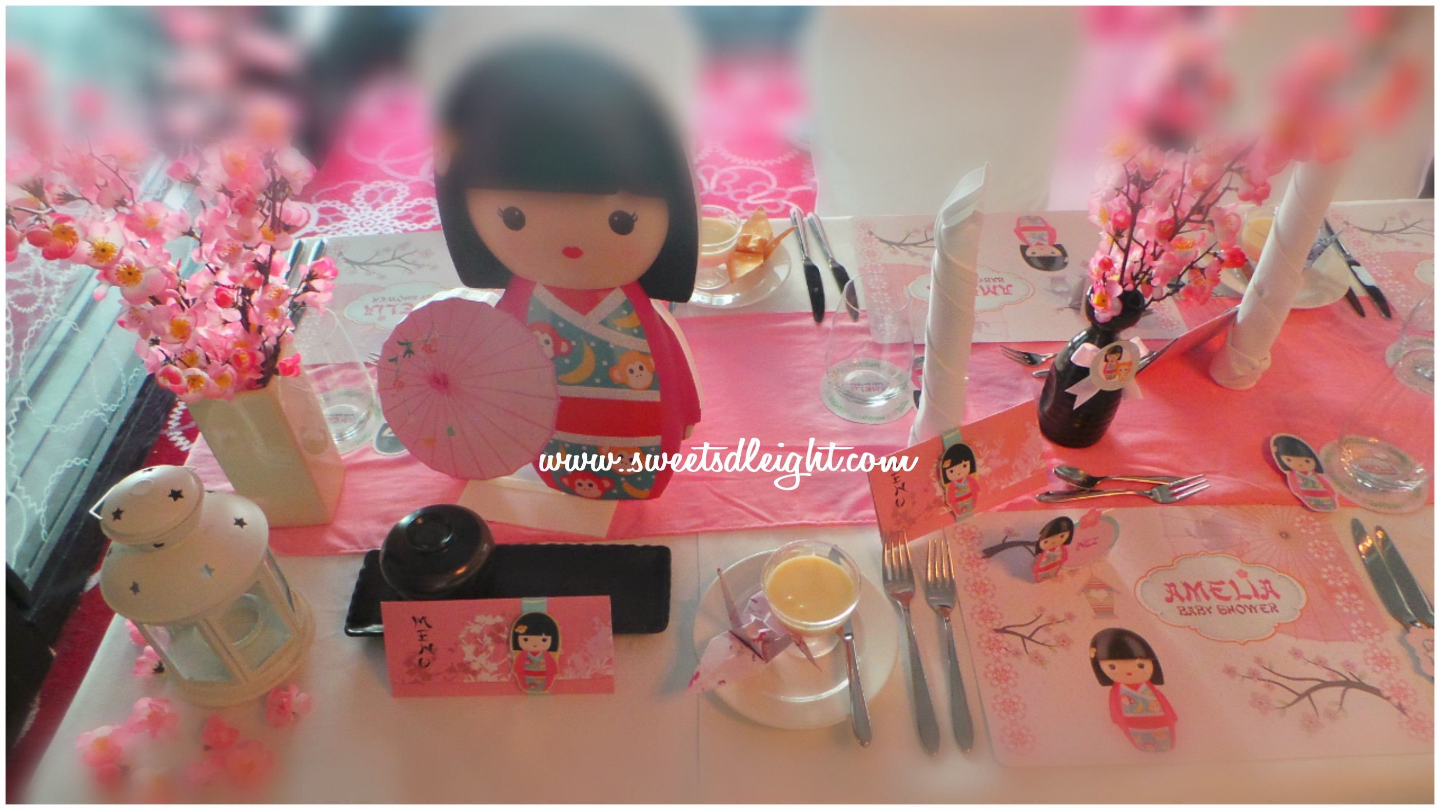 Japan theme party – Sweets Delight