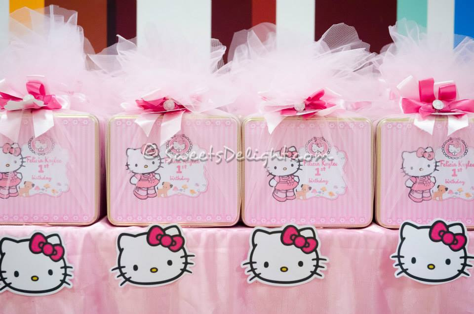 Hello Kitty Party Kaylee 1st Birthday Sweets Delight