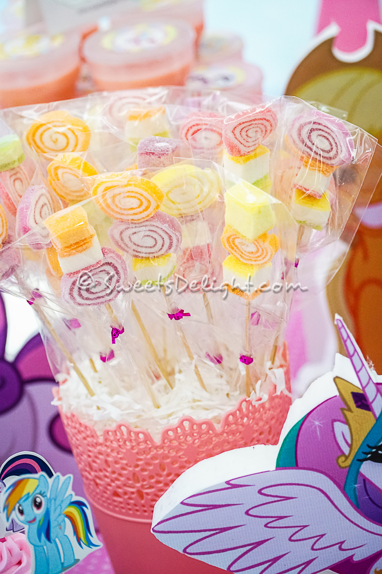 my little pony party  u2013 sweets delight