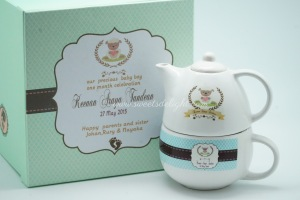 Tea Set Baby Sheep 02