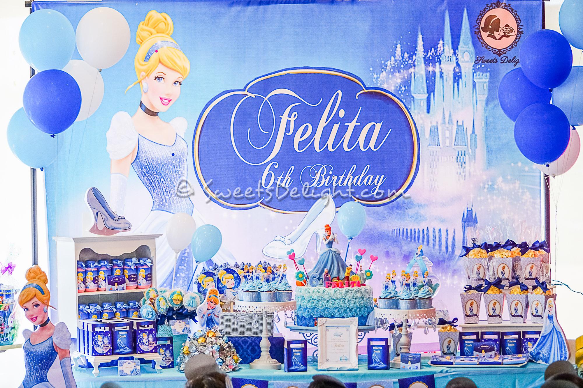 Cinderella Dessert Table Sweets Delight