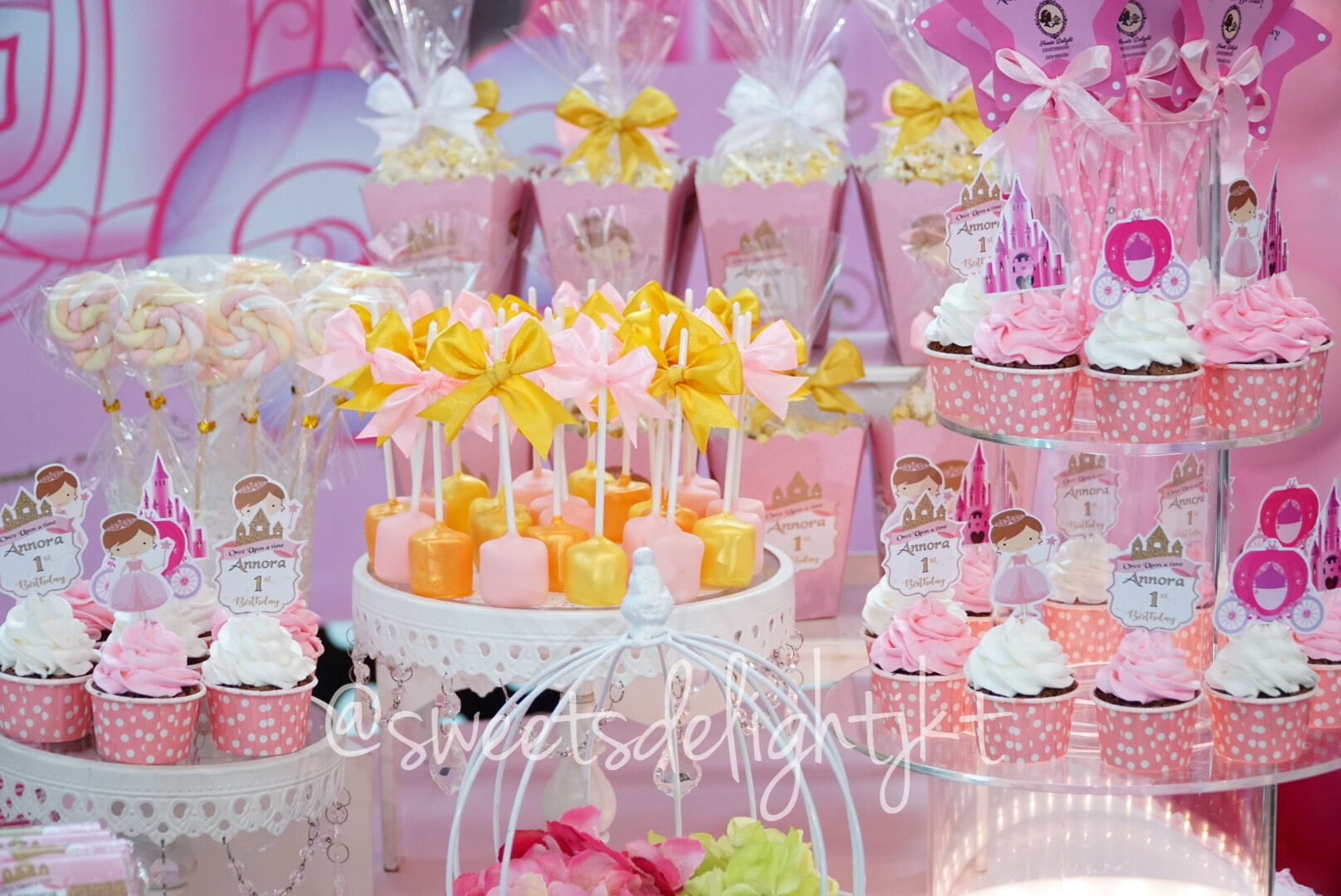 Dekorasi Pesta Ulang Tahun Sweets Delight