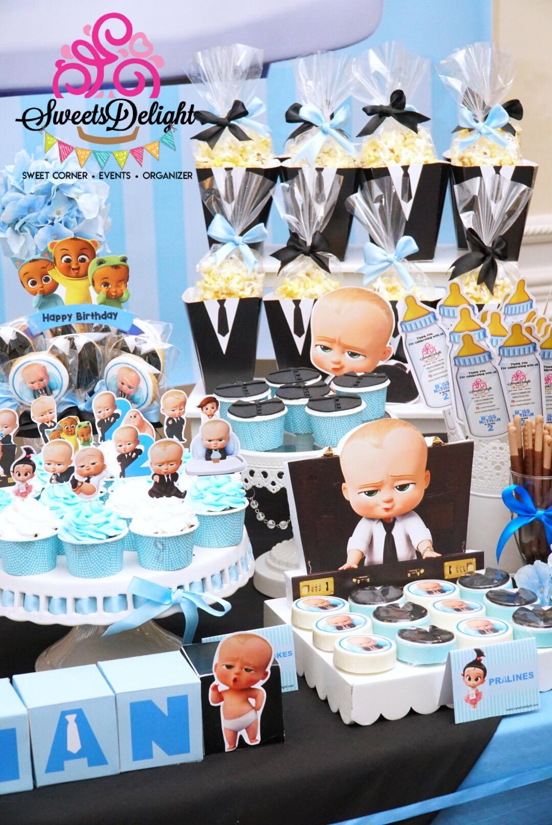Boss Baby Dessert Table Sweets Delight
