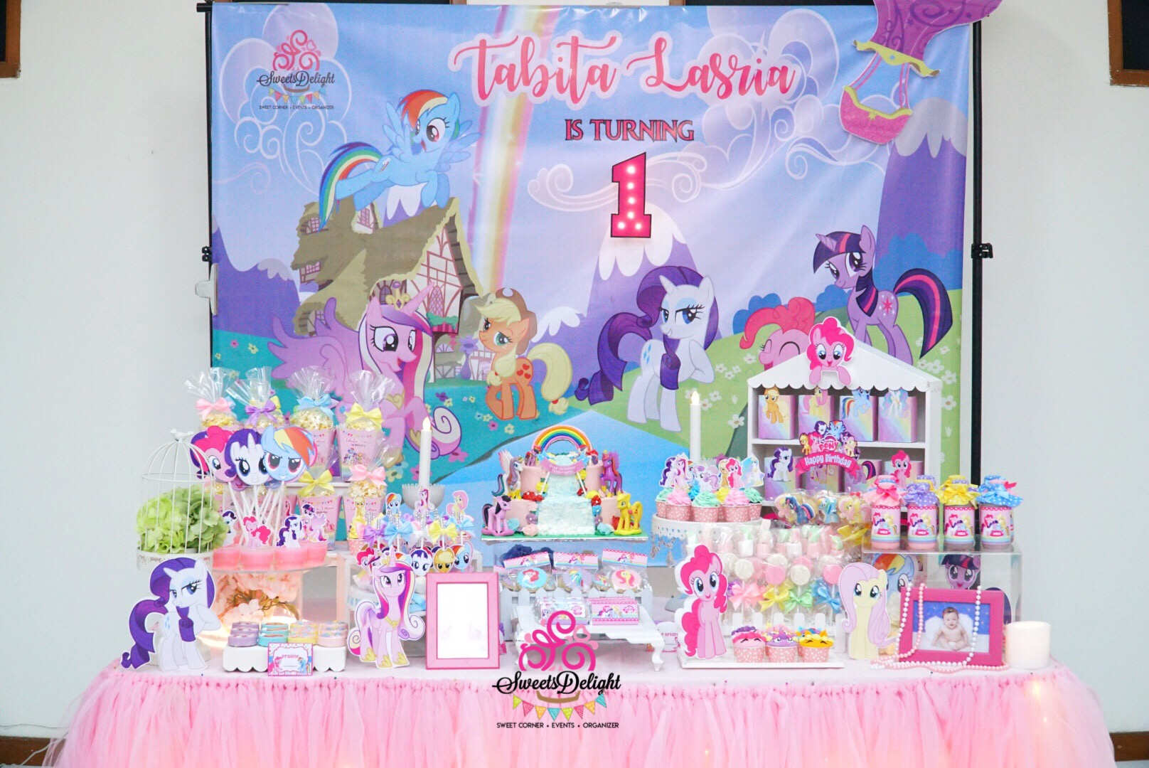 My Little Pony Dessert Table Sweets Delight